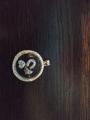 Петит для медальона