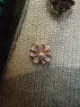 Брошь - цветок