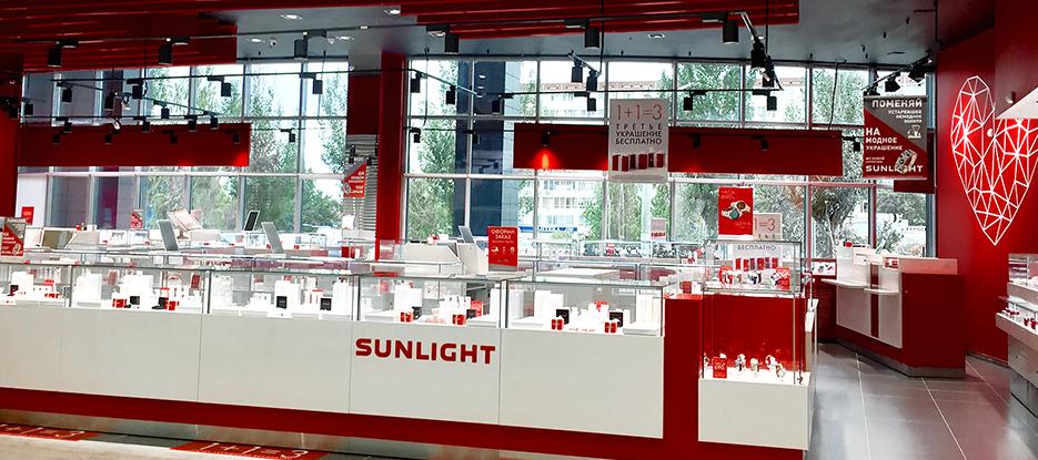 a8296428f992 Ювелирный магазин SUNLIGHT в ТЦ SUNRISE CITY  г Набережные Челны, пр-кт  Сююмбике д 40