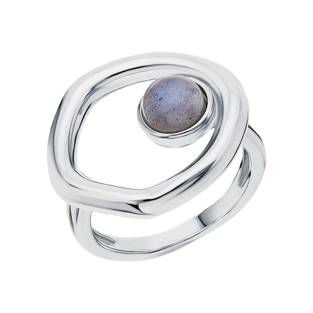 Серебряное кольцо с лабрадоритами в Санкт-Петербурге