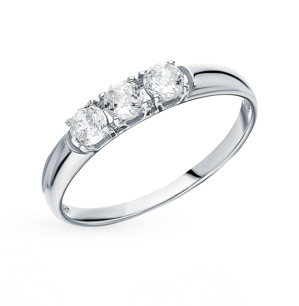 Золотое кольцо с фианитами SOKOLOV 81010284* в Екатеринбурге