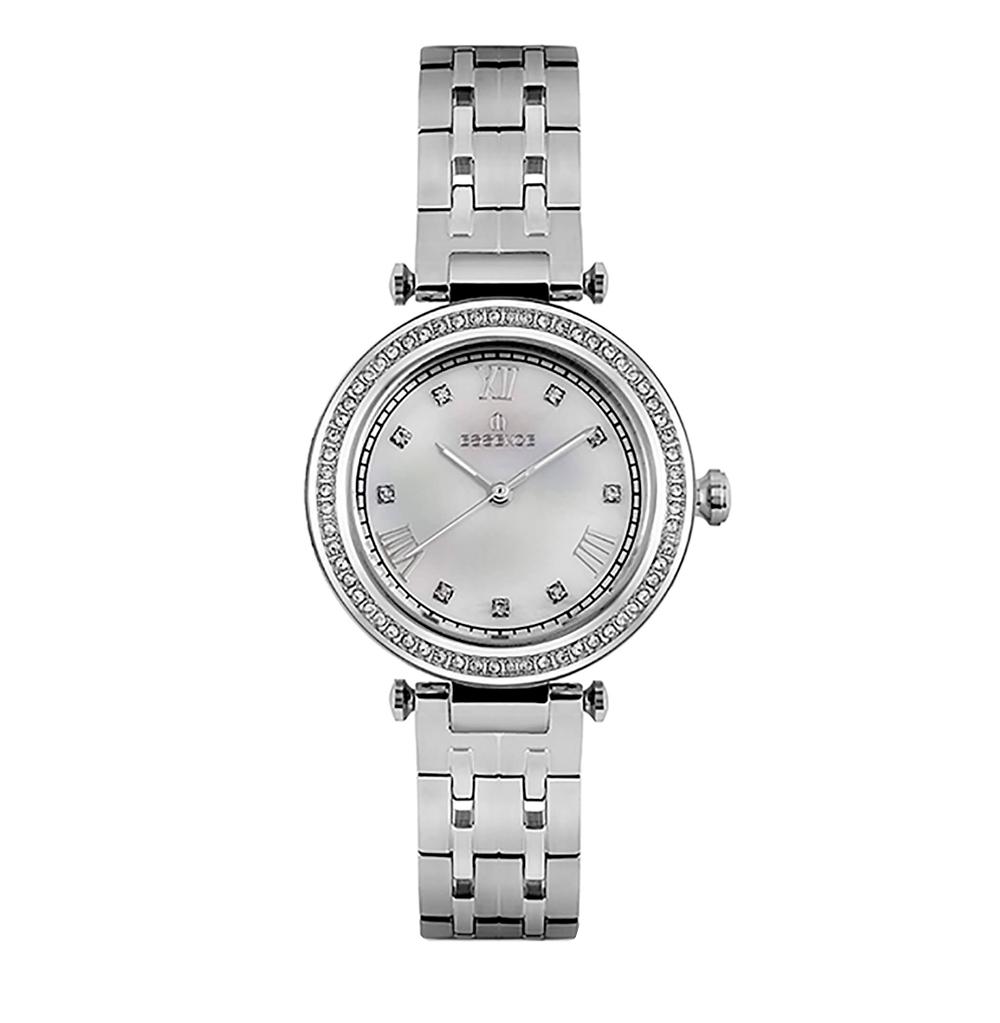 Фото «Женские  кварцевые часы ES6604FE.320 на стальном браслете с минеральным стеклом»