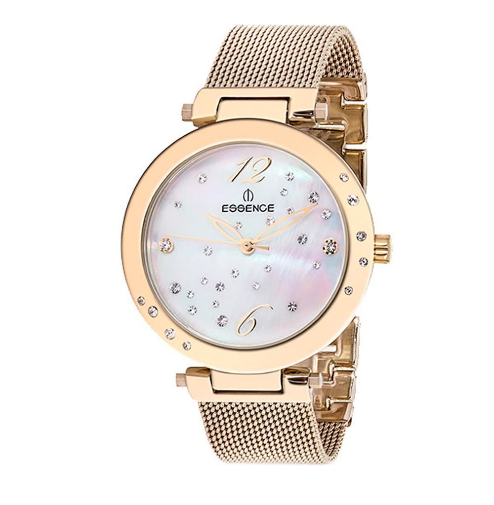 Женские часы ES6362FE.120 на стальном браслете с IP покрытием с минеральным стеклом