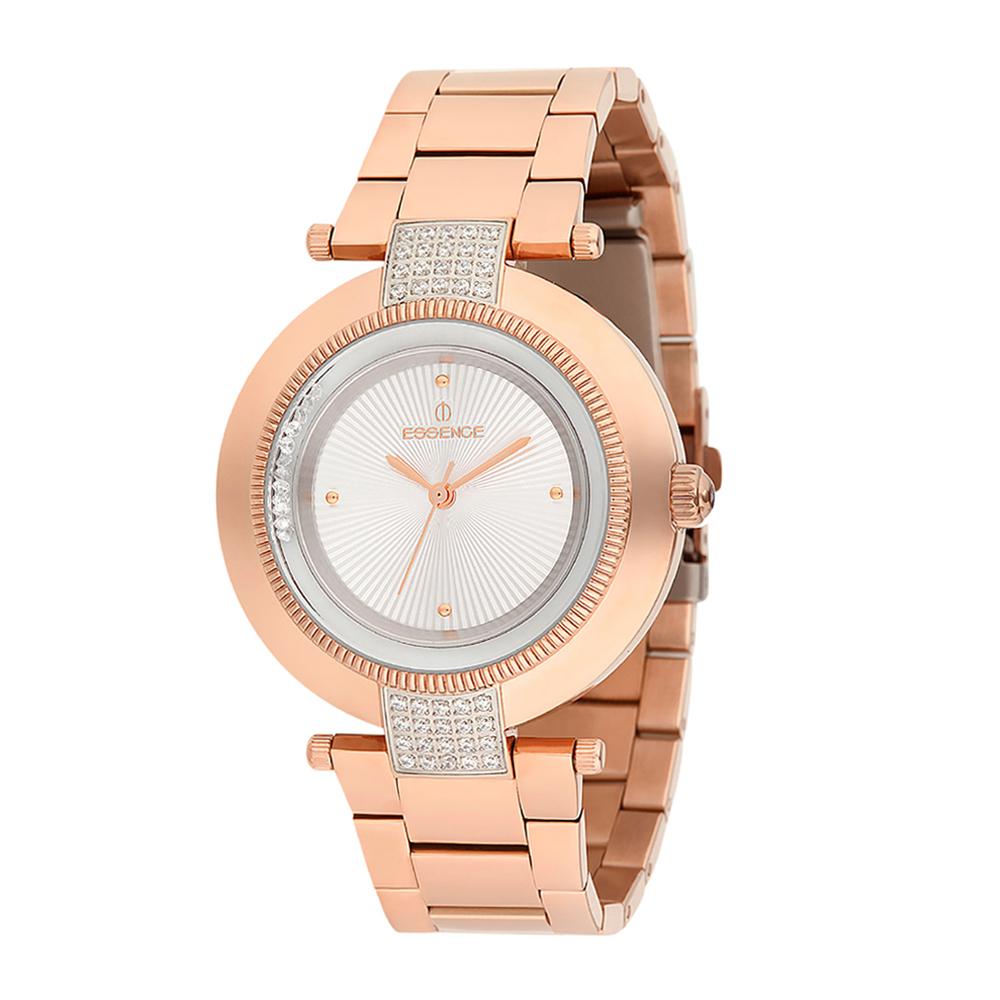 Женские часы ES6386FE.420 на стальном браслете с розовым PVD покрытием с минеральным стеклом в Екатеринбурге