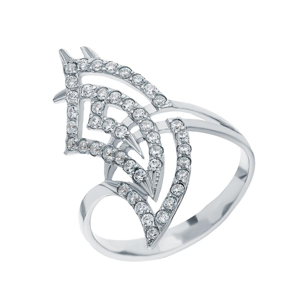 Серебряное кольцо с кубическими циркониями в Санкт-Петербурге