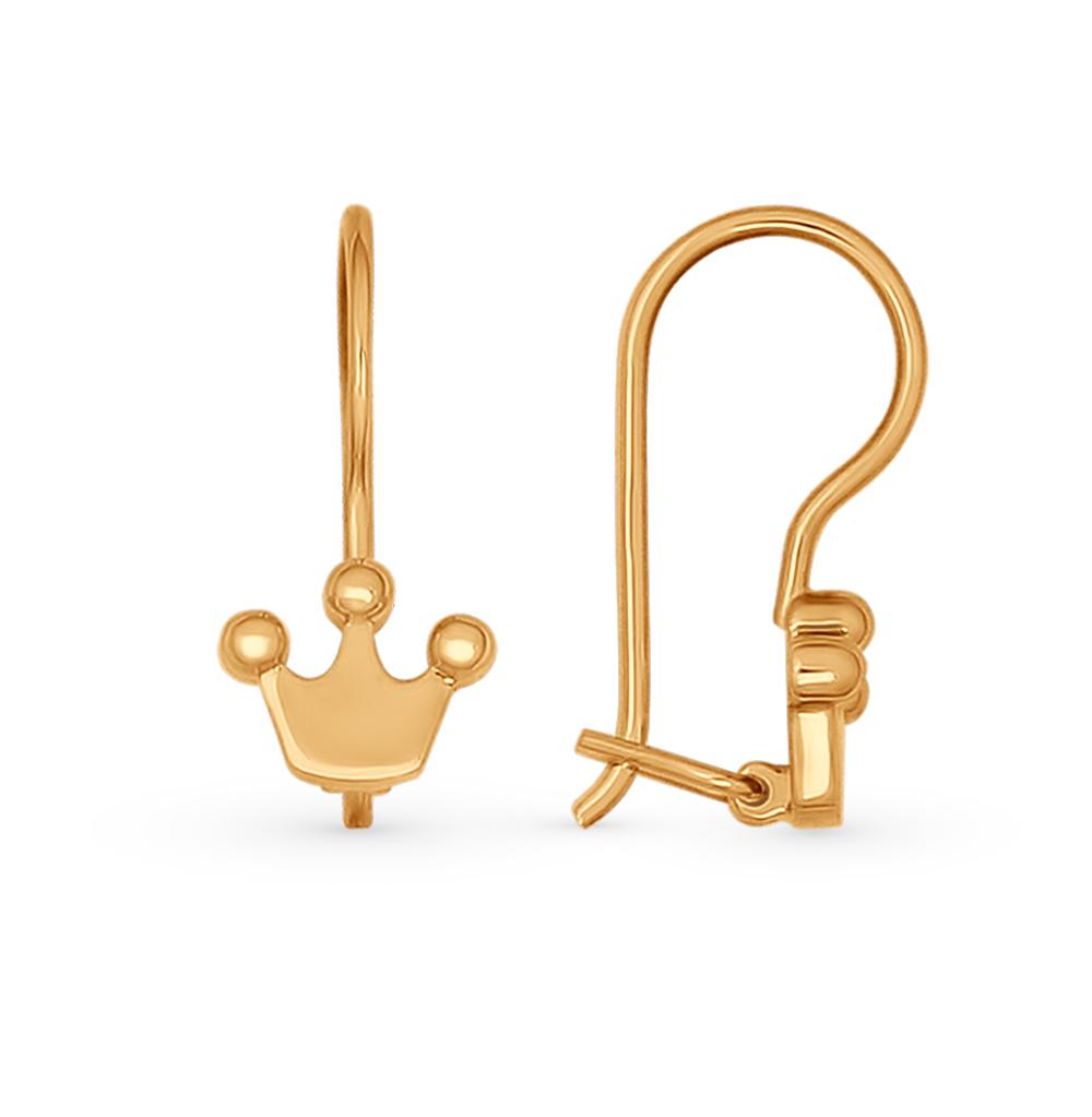 Золотые серьги SOKOLOV 027026* в Екатеринбурге
