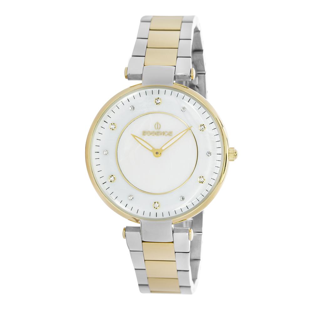 Фото «Женские часы ES6375FE.220 на стальном браслете с частичным PVD покрытием с минеральным стеклом»