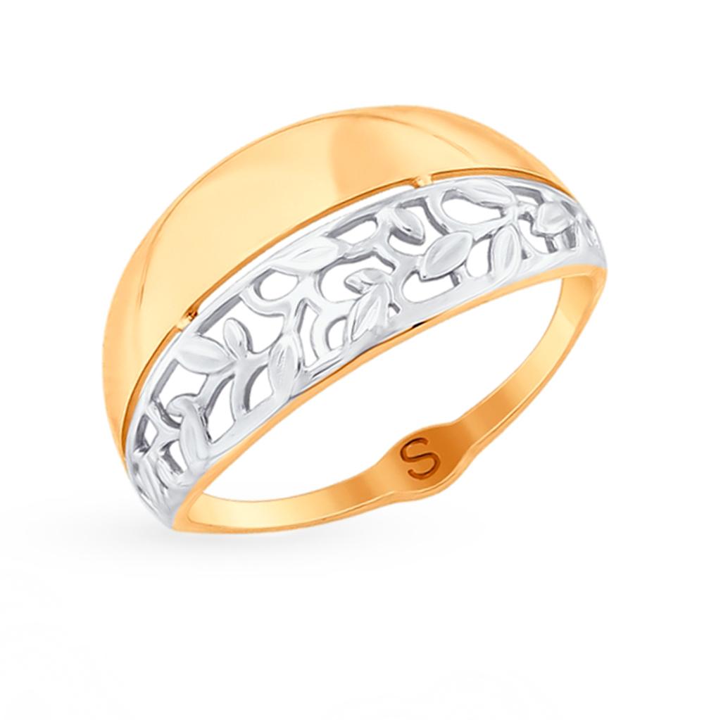 золотое кольцо SOKOLOV 017808*