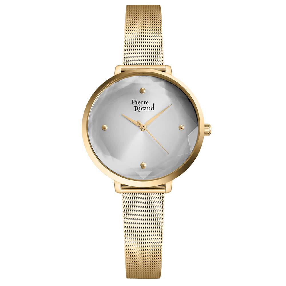 Фото «Женские кварцевые часы P22097.1147Q на стальном браслете с минеральным стеклом»
