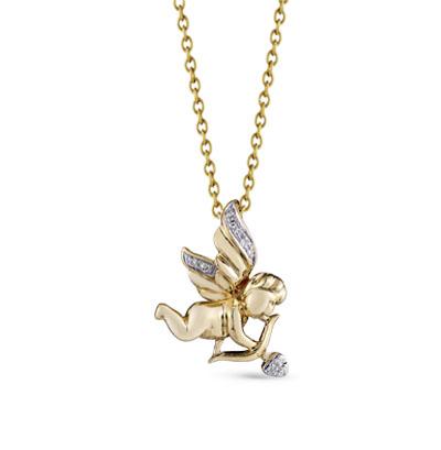 Фото «Золотая подвеска с бриллиантами»