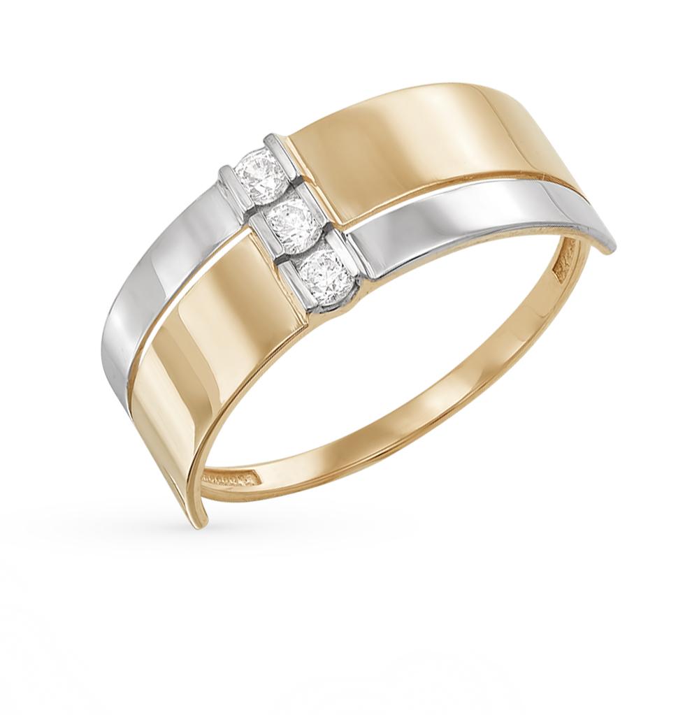Фото «золото кольцо с фианитами»