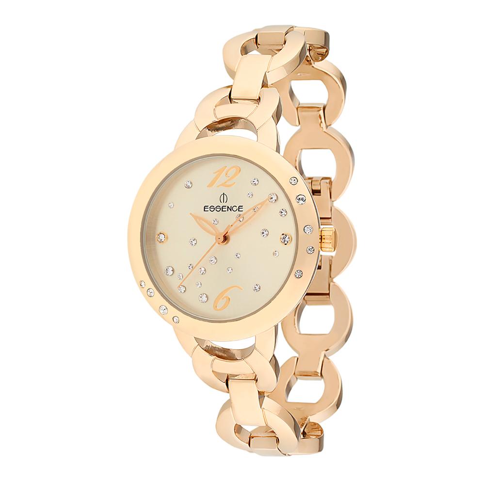 Женские часы D884.110 на стальном браслете с PVD покрытием с минеральным стеклом