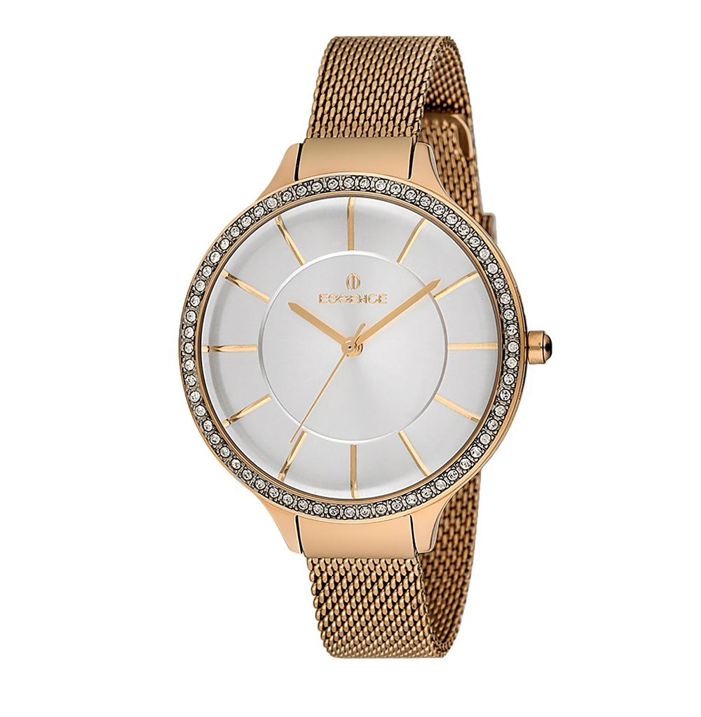 Фото «Женские часы ES6452FE.130 на стальном браслете с IP покрытием с минеральным стеклом»