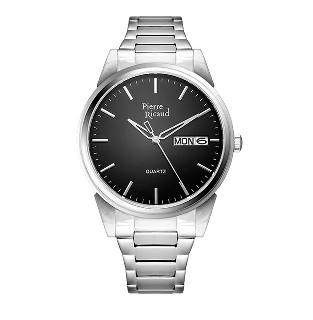 Мужские часы P91067.5114Q на стальном браслете с сапфировым стеклом
