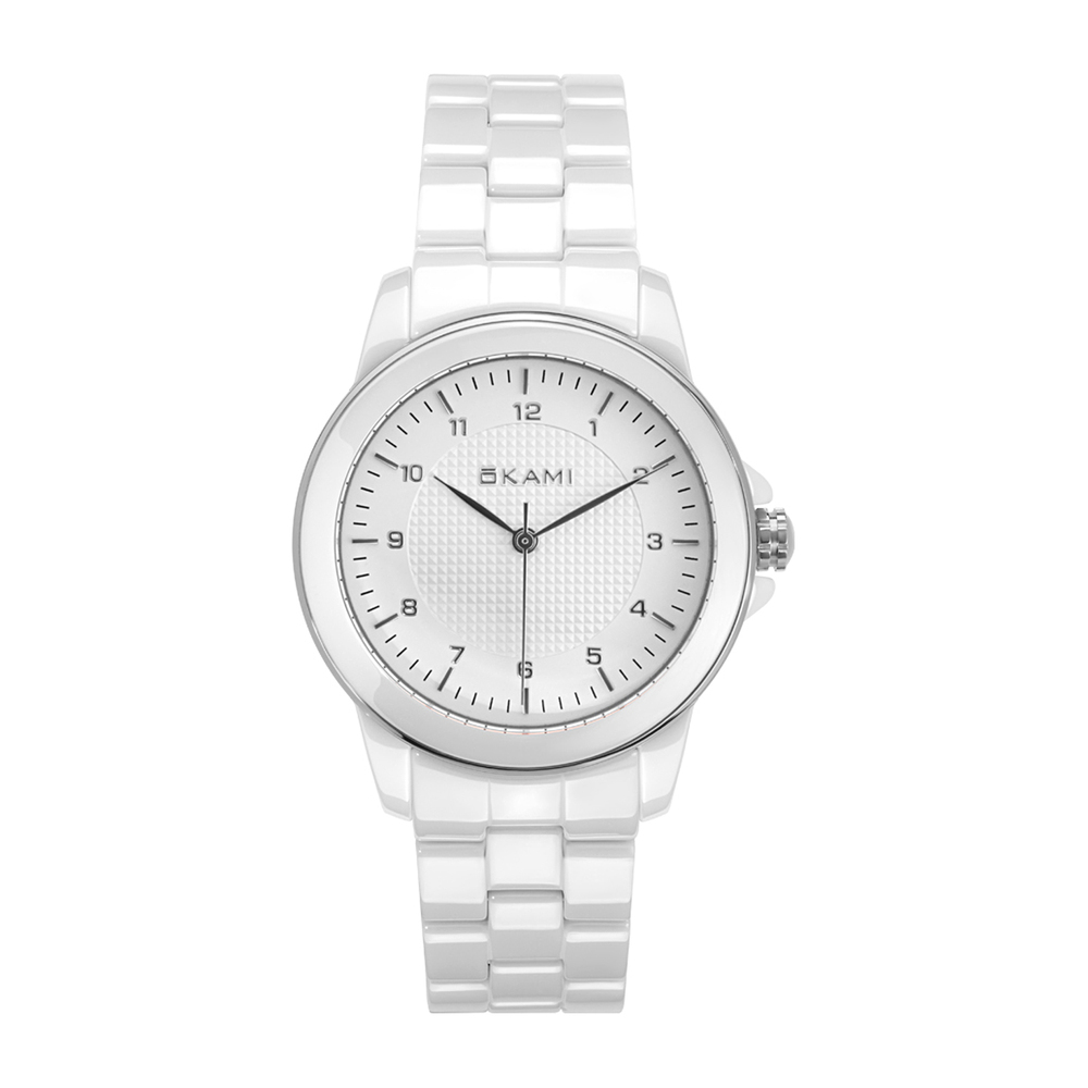 Фото «Часы унисекс на керамическом браслете»