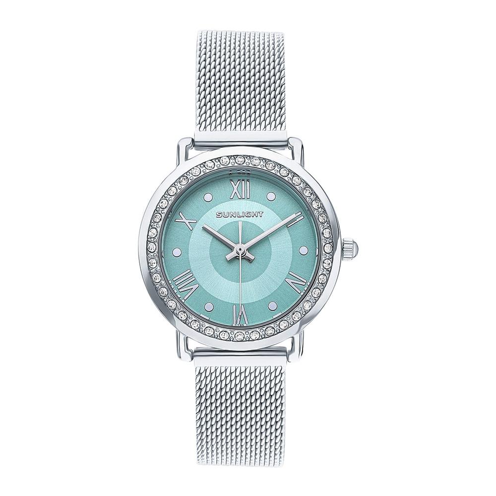 Женские часы с кристаллами на миланском браслете в Санкт-Петербурге