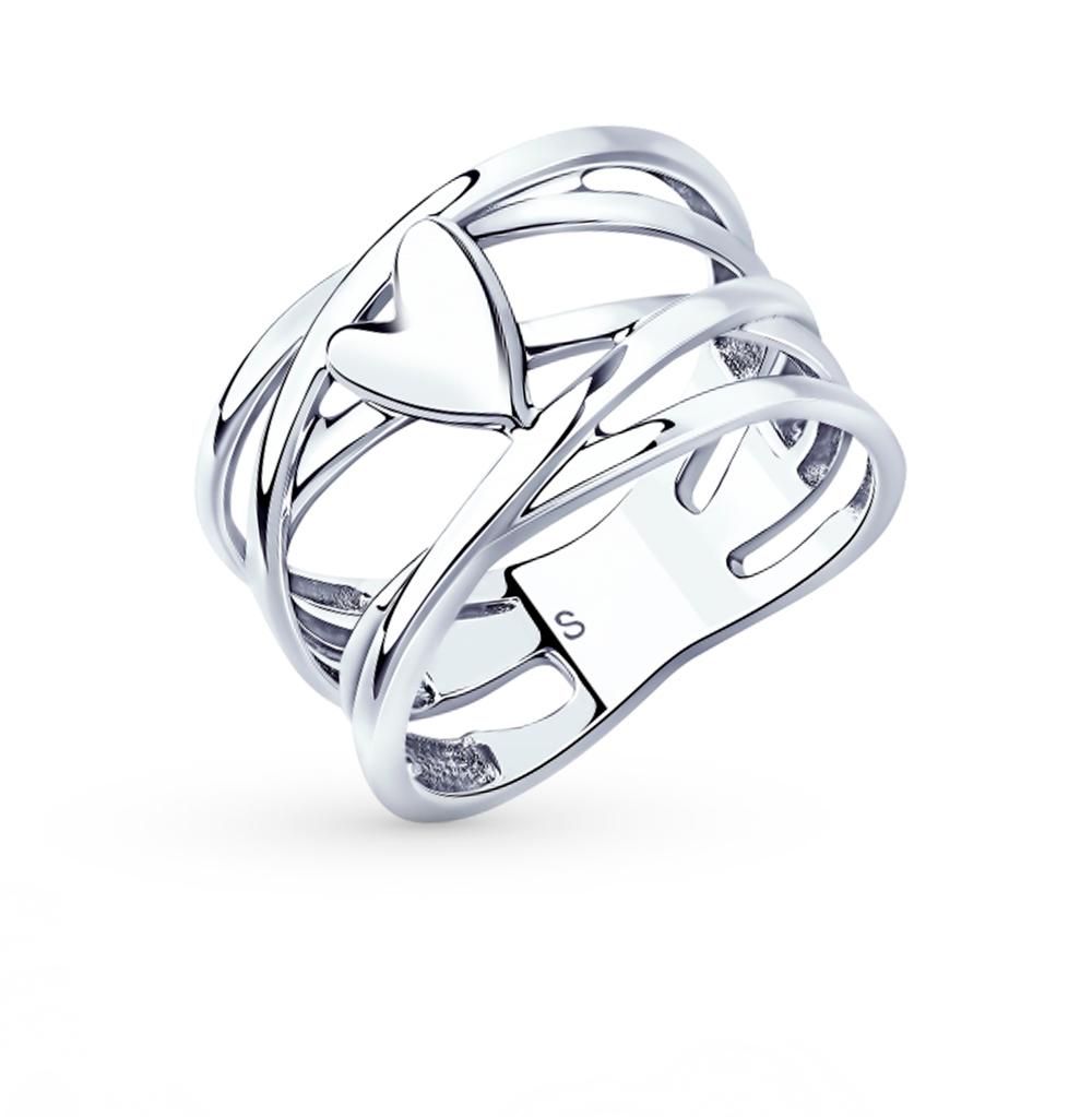серебряное кольцо SOKOLOV 94013050