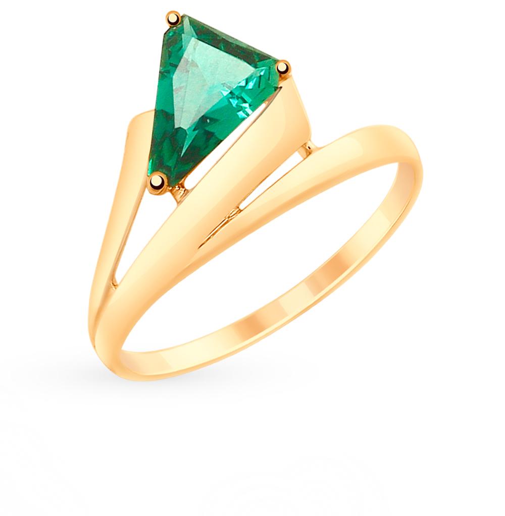 Золотое кольцо с кварцем SOKOLOV 715185 в Санкт-Петербурге