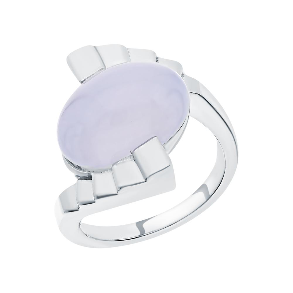Фото «Серебряное кольцо с халцедонами»