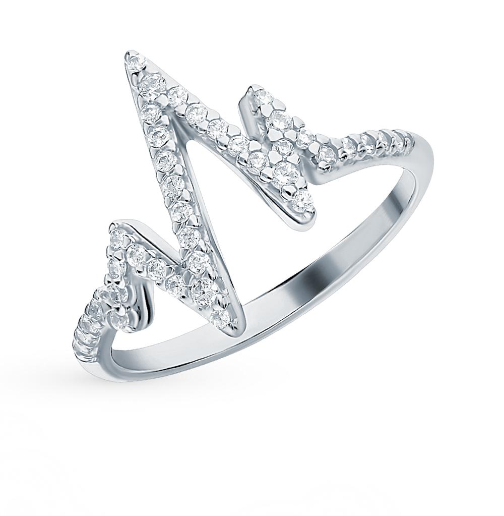 Серебряное кольцо с фианитами SOKOLOV 94013094 в Екатеринбурге