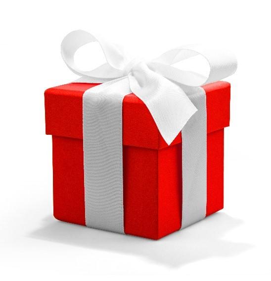 Красная квадратная коробка SL