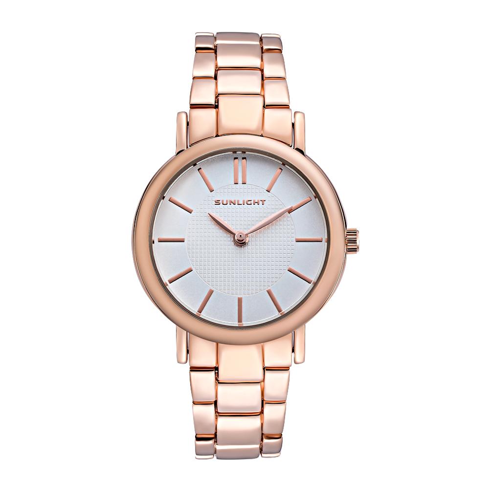 f48549b55144 Классические женские часы на металлическом браслете
