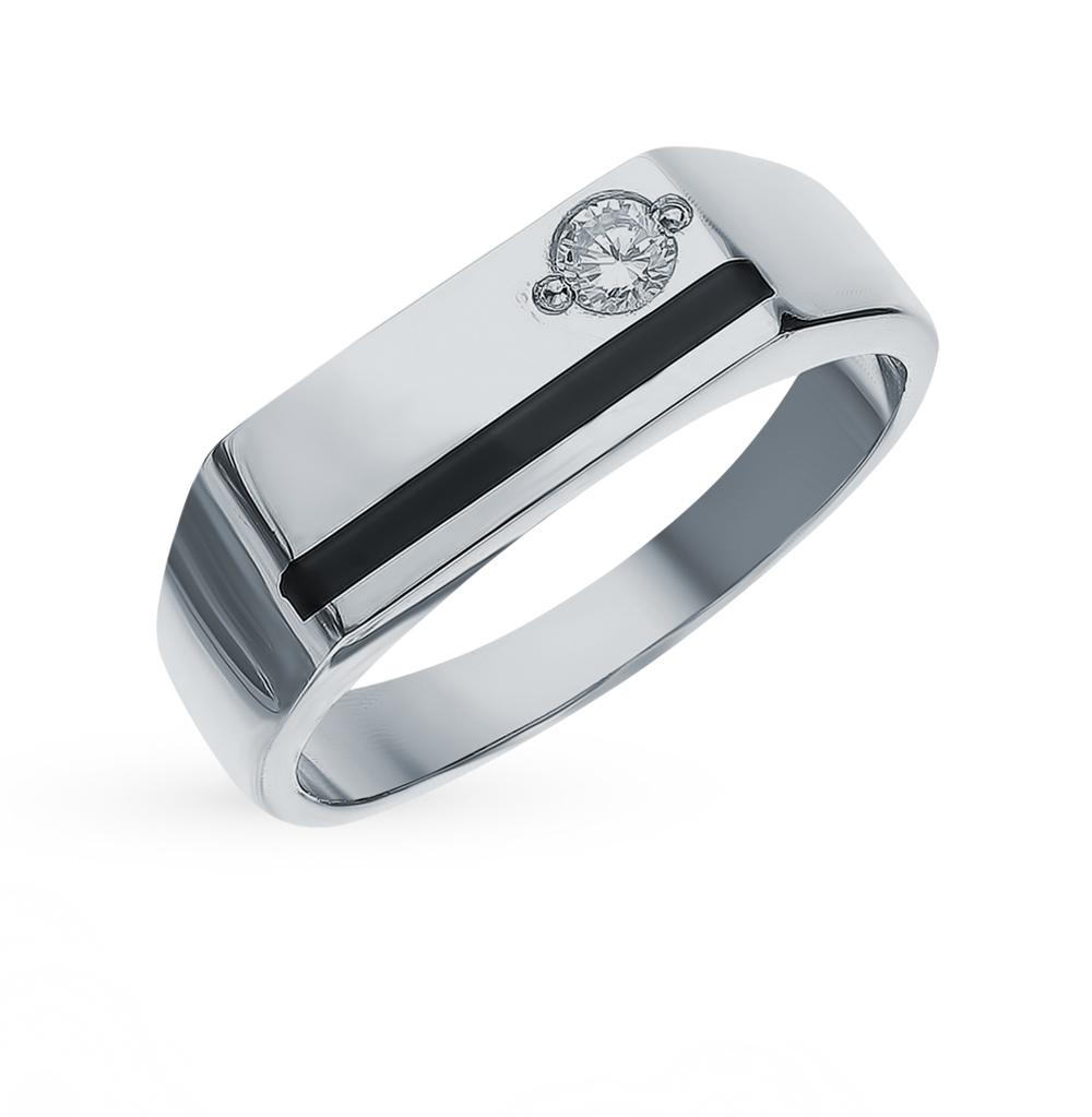 Фото «Серебряное кольцо с фианитами»