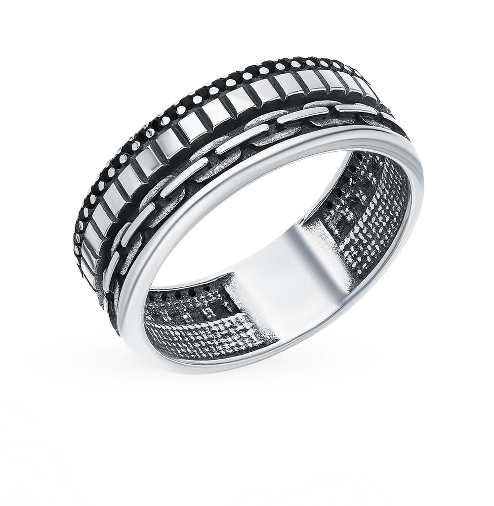 Фото «Серебряное кольцо с фианитами SOKOLOV 95010121»