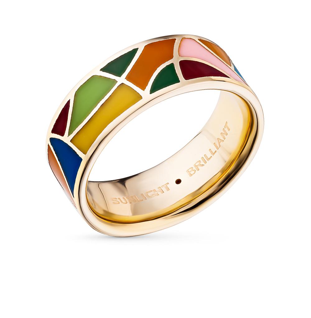 Серебряное кольцо с эмалью и бриллиантами в Санкт-Петербурге