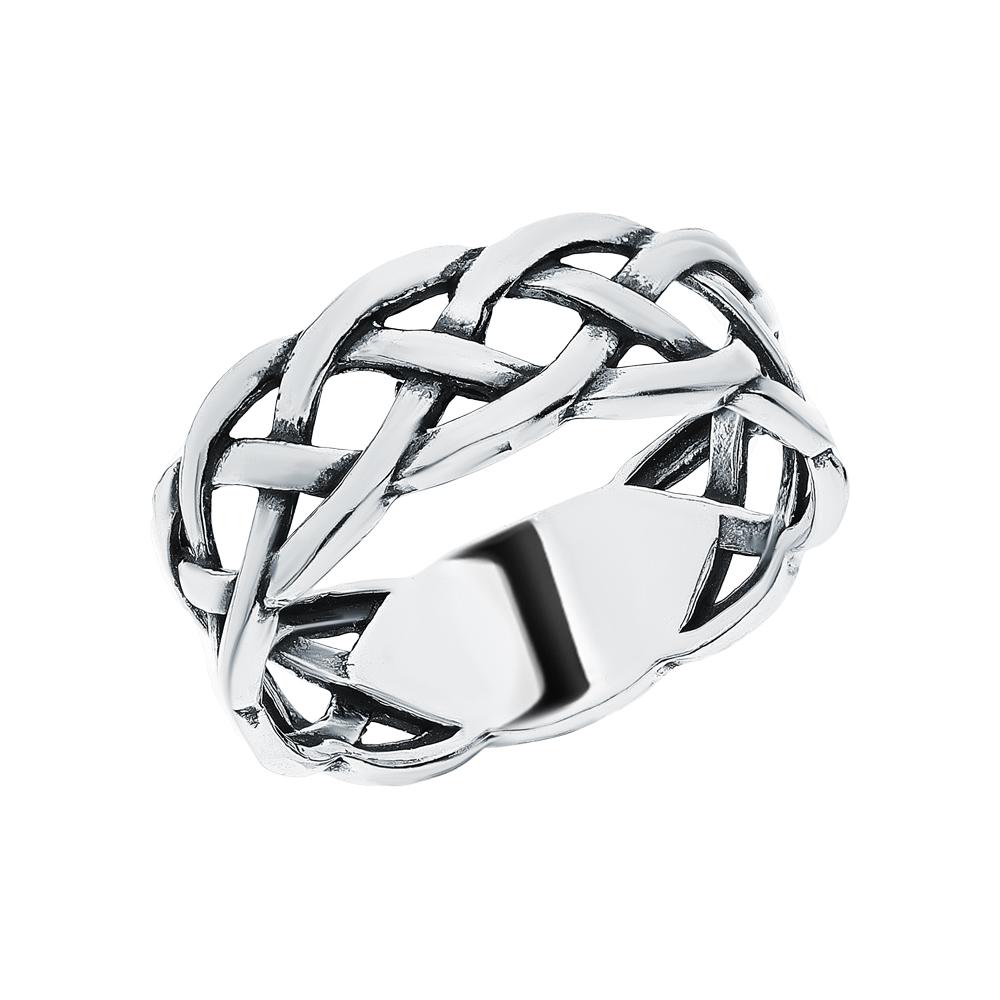 Серебряное кольцо SUNLIGHT SL00071611: белое серебро 925 пробы — купить в интернет-магазине Санлайт, фото, артикул 277036