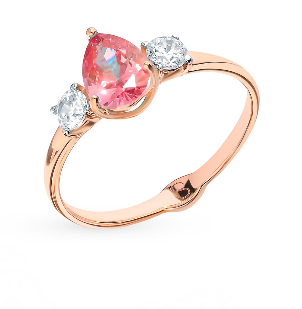 Золотое кольцо с фианитами SOKOLOV 81010360* в Екатеринбурге