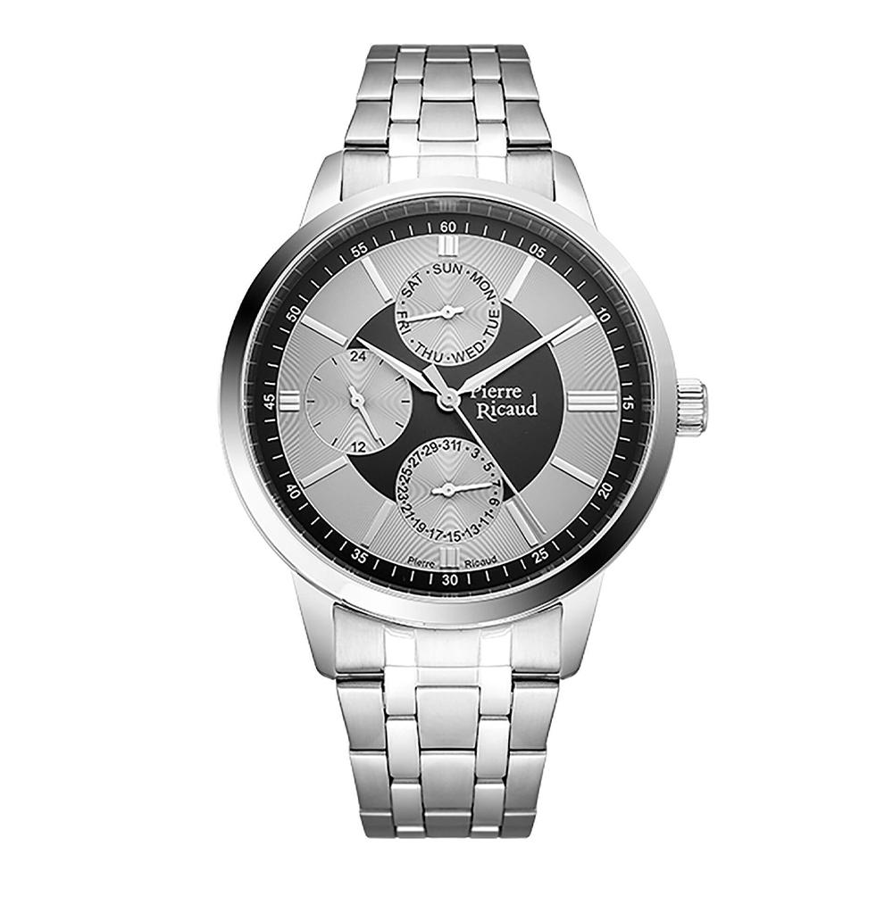 Фото «Мужские кварцевые часы P97238.5114QF на стальном браслете с минеральным стеклом»