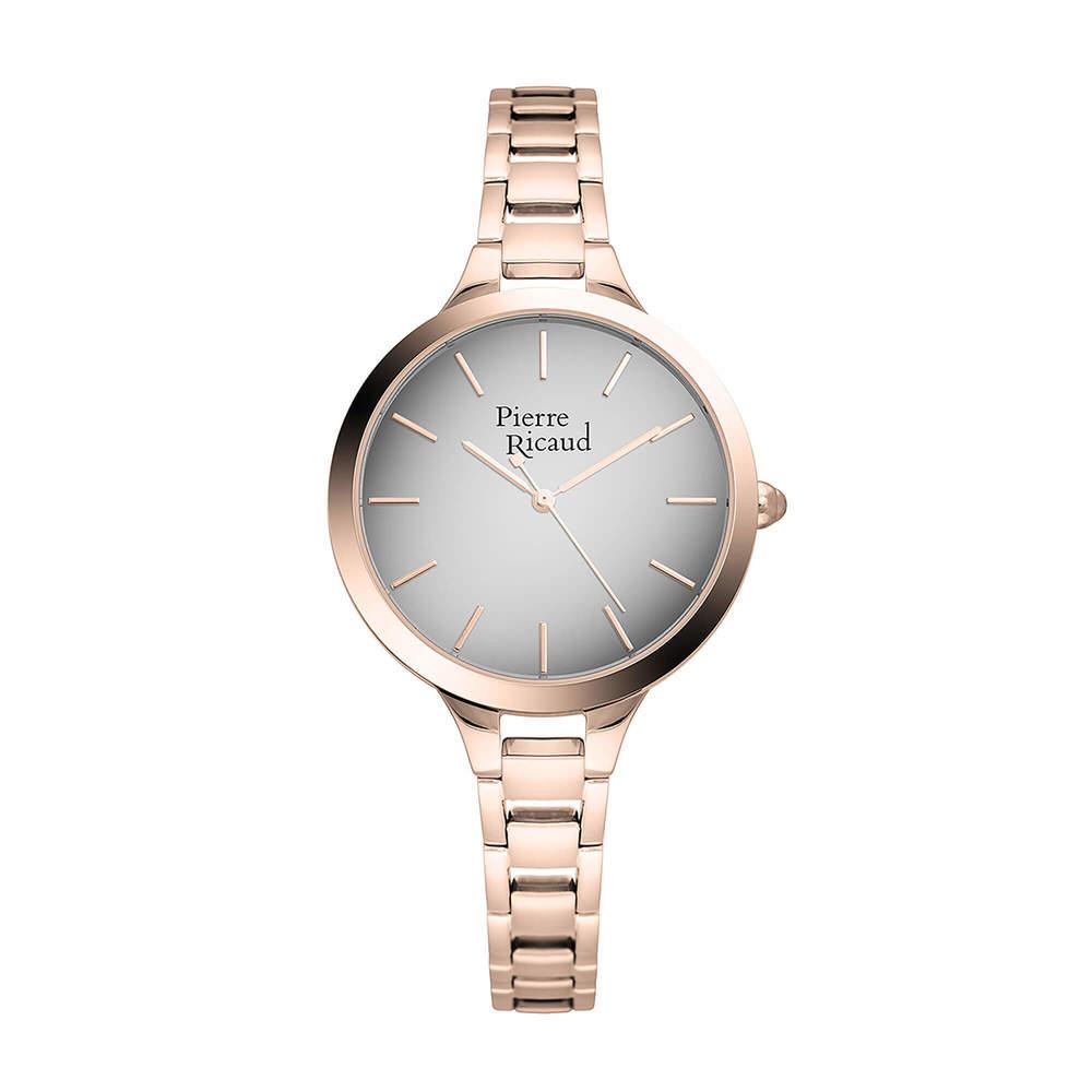 Фото «Женские кварцевые часы P22047.9117Q на стальном браслете с минеральным стеклом»