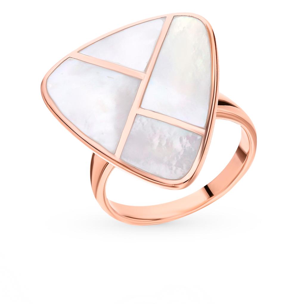 Серебряное кольцо с перламутром в Санкт-Петербурге