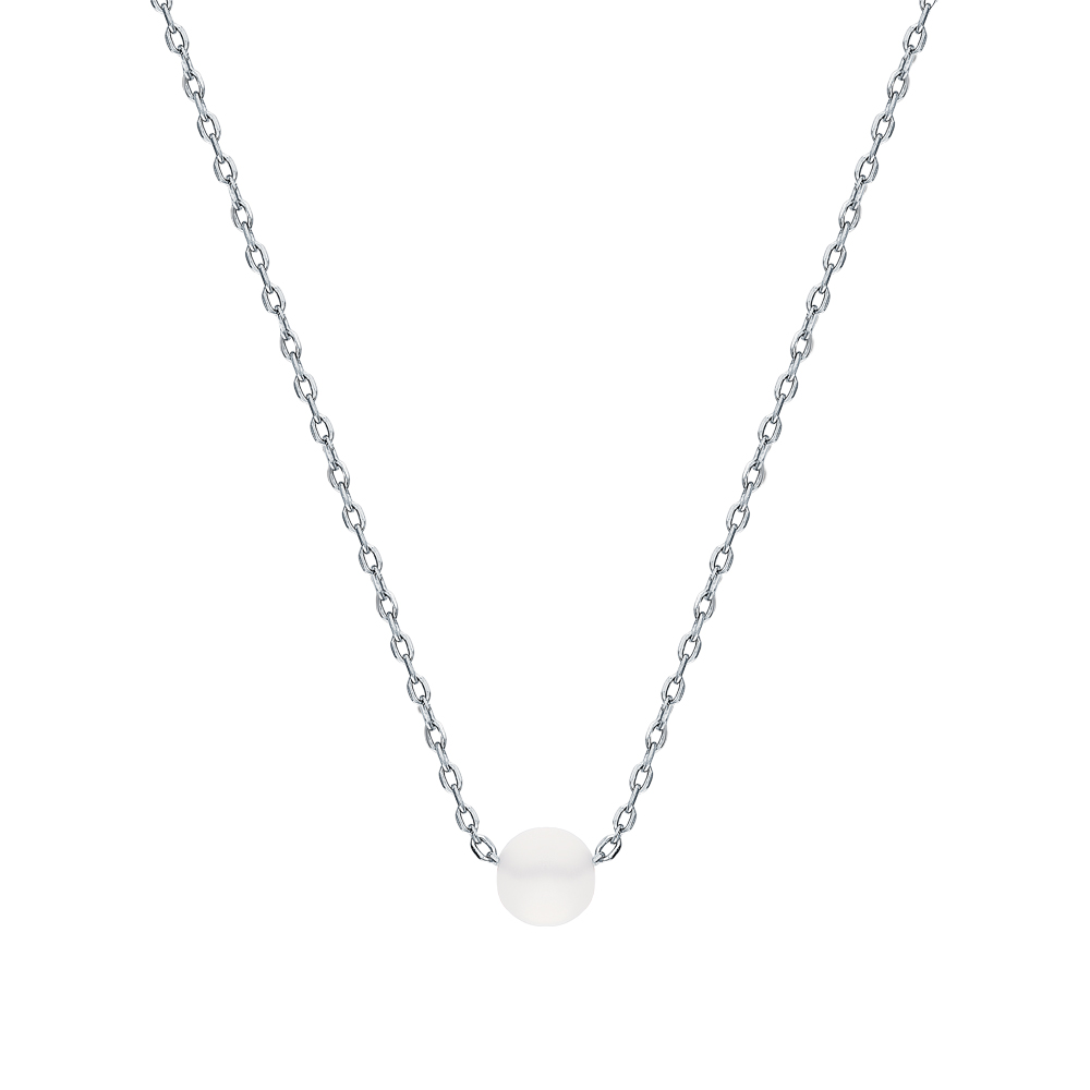 Фото «Серебряное шейное украшение с алпанитом»