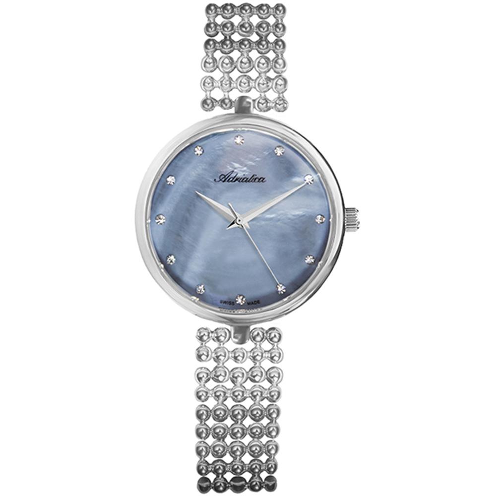 Женские часы A3731.514BQ на стальном браслете с минеральным стеклом