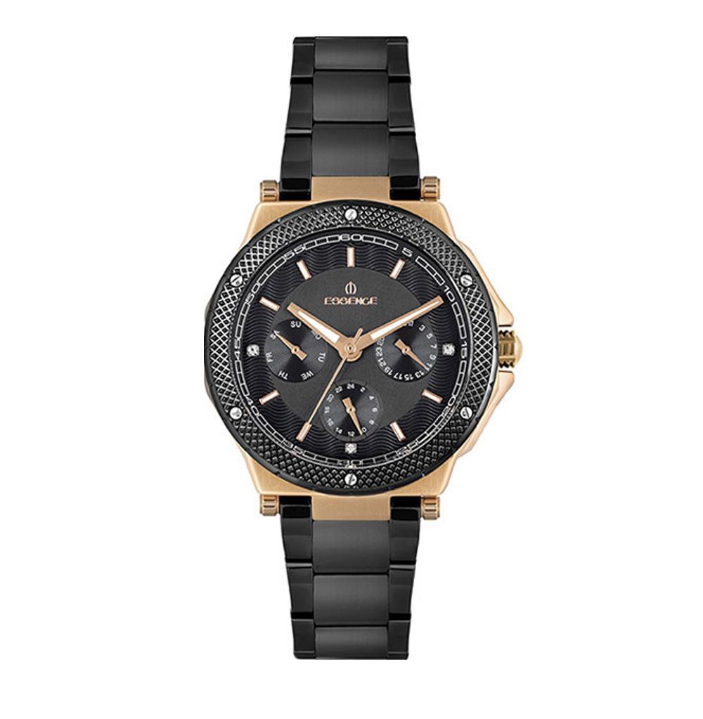 Женские часы ES6611FE.850 на стальном браслете с IP покрытием с минеральным стеклом