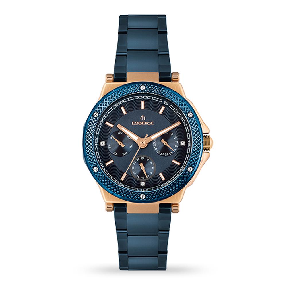 Фото «Женские  кварцевые часы ES6611FE.990 на стальном браслете с минеральным стеклом»