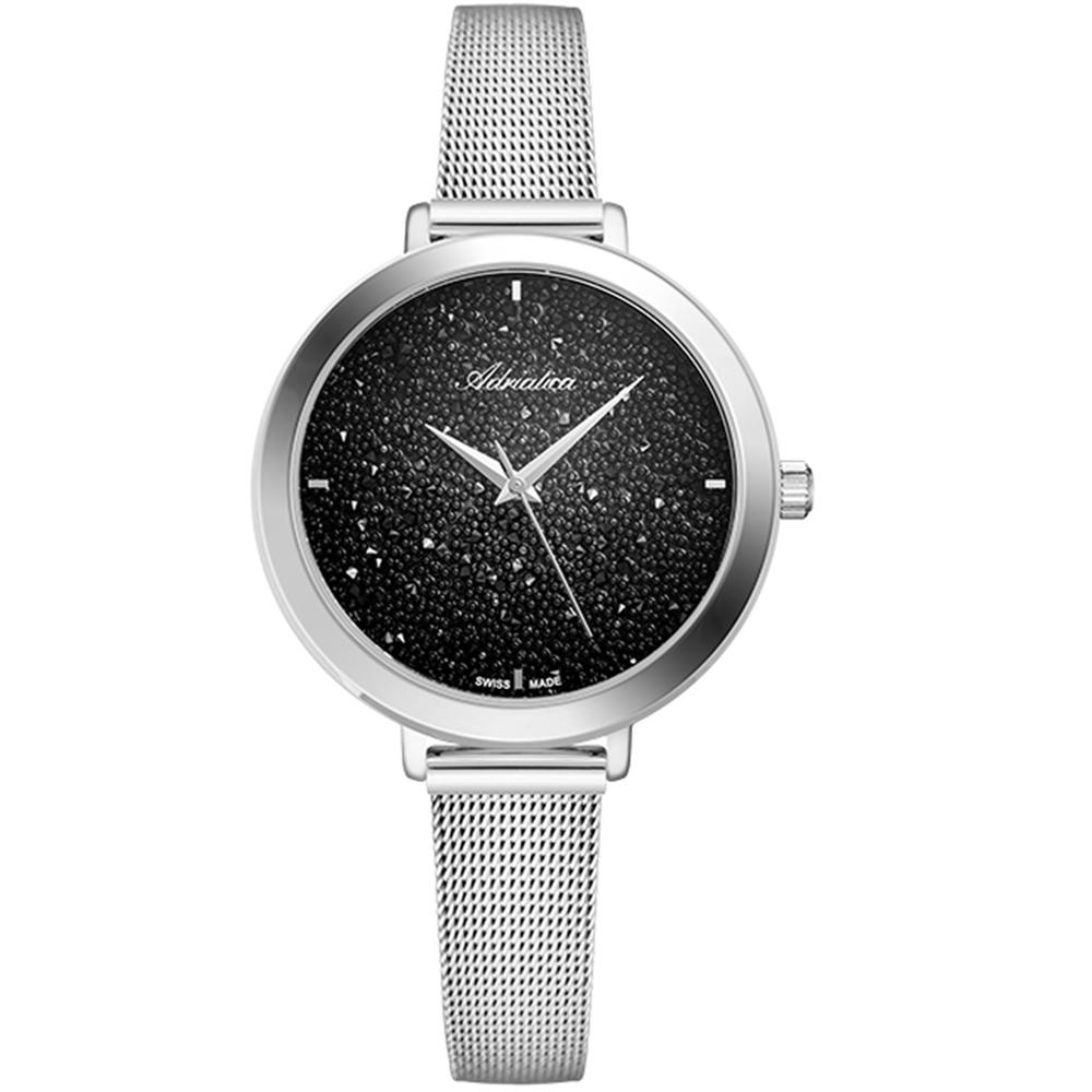 Фото «Женские часы A3787.5114Q на стальном браслете с минеральным стеклом»