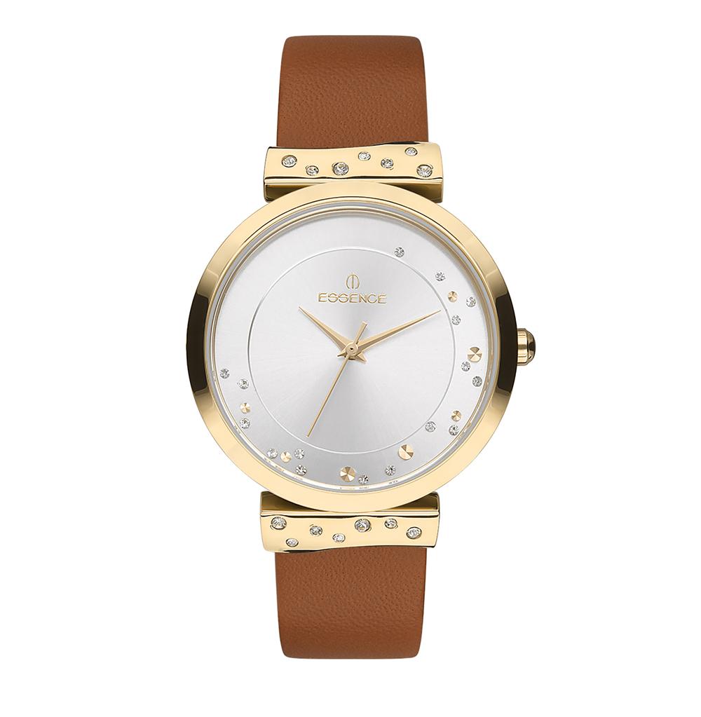 Фото «Женские часы ES6456FE.132 на кожаном ремешке с минеральным стеклом»
