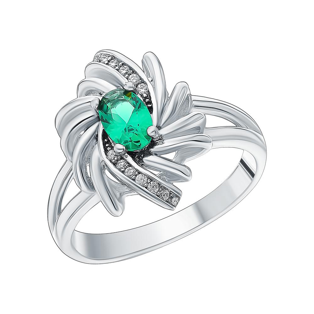 Фото «Серебряное кольцо с малахитом»