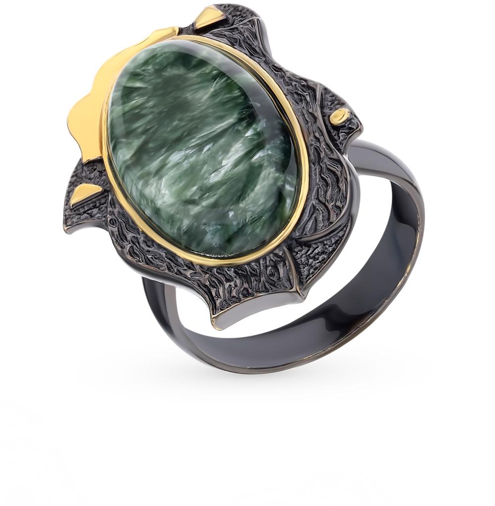 Фото «Серебряное кольцо с серафинитом»