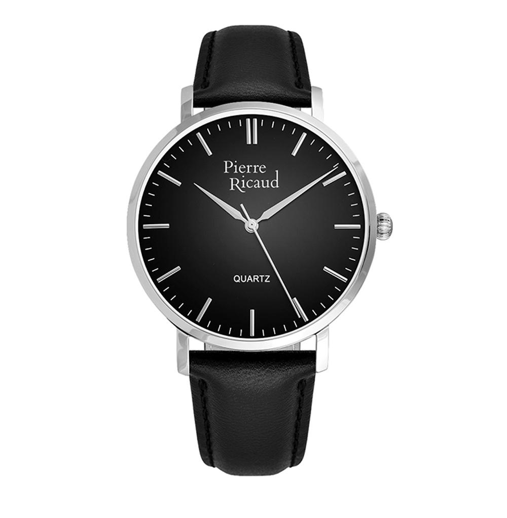 Мужские часы P91074.5214Q на кожаном ремешке с минеральным стеклом
