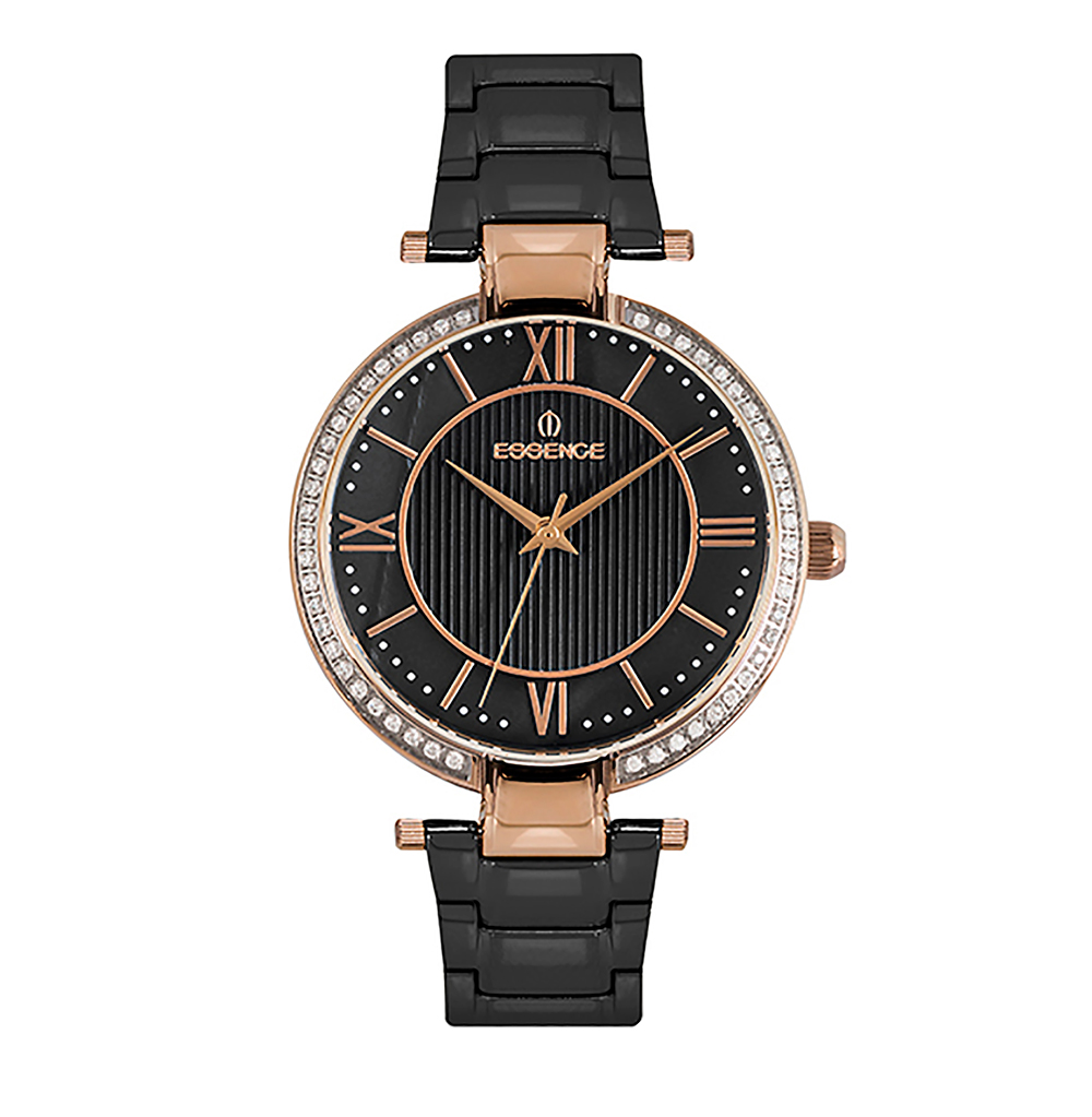 Фото «Женские  кварцевые часы ES6504FE.850 на стальном браслете с минеральным стеклом»