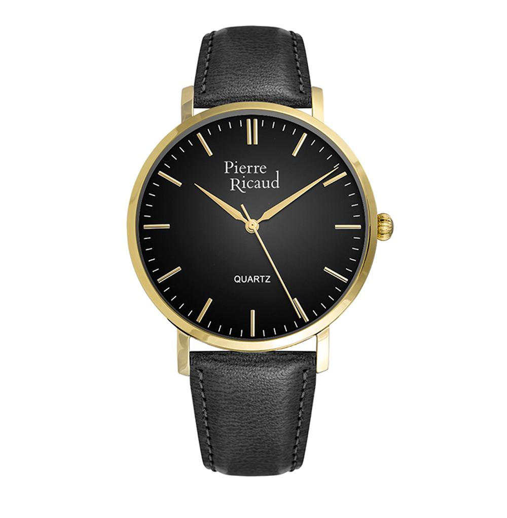 Фото «Мужские часы P91074.1214Q на кожаном ремешке с минеральным стеклом»