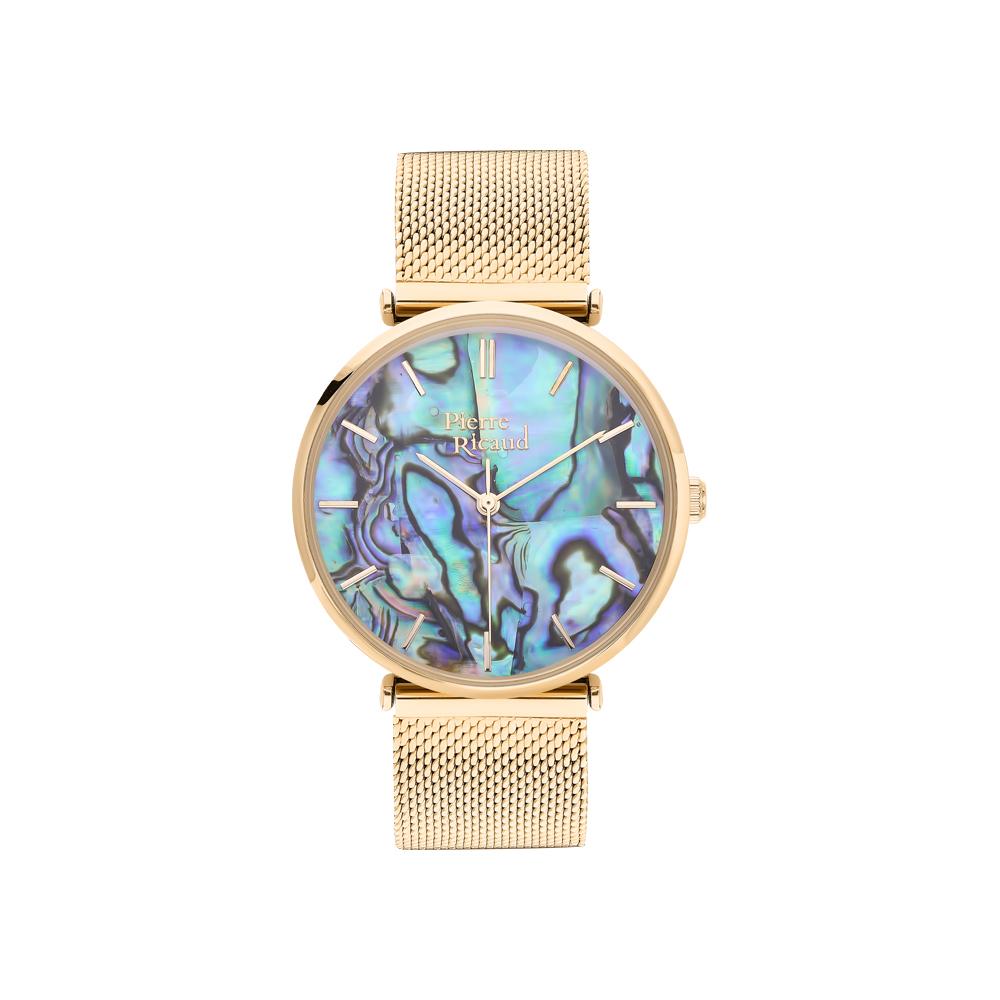 Фото «Женские кварцевые часы P22096.111AQ на стальном браслете с минеральным стеклом»