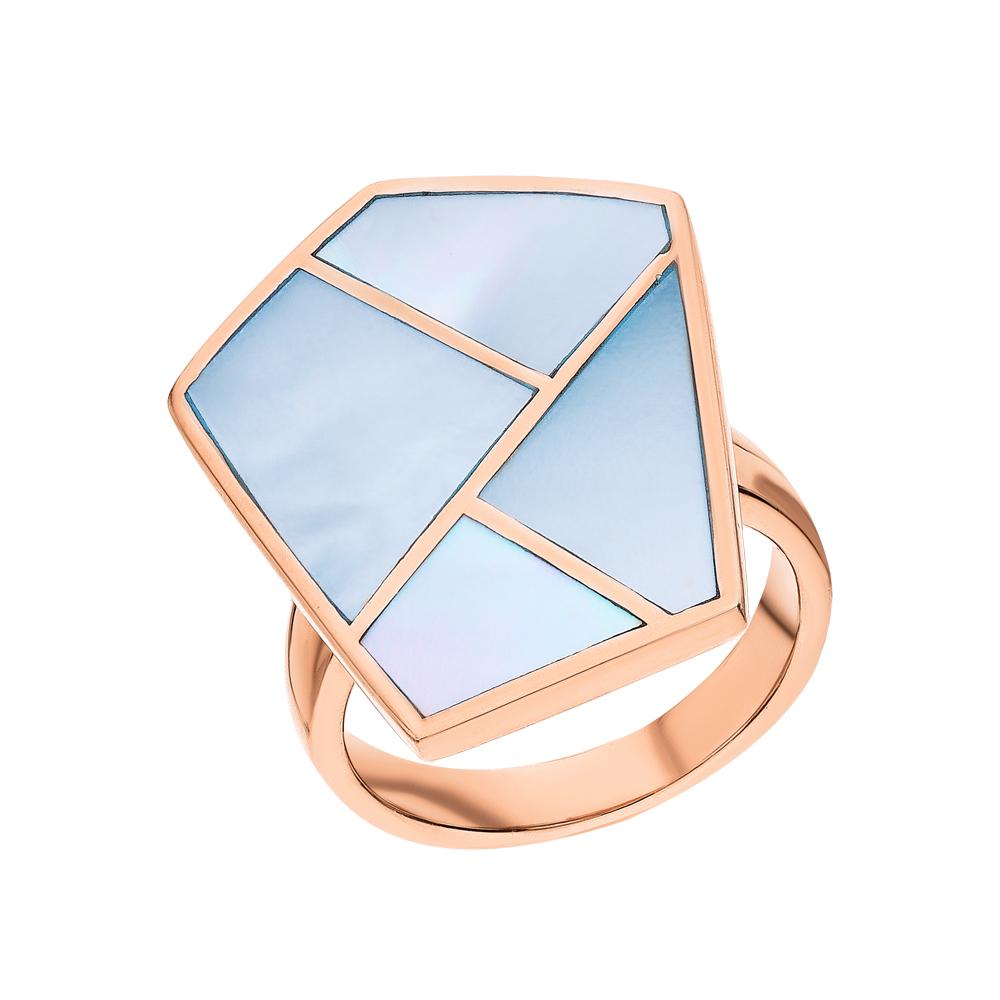 Фото «Серебряное кольцо с перламутром»