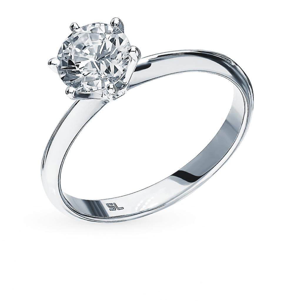 Золотое кольцо SUNLIGHT «Бриллианты Якутии» 3536-K5W-01