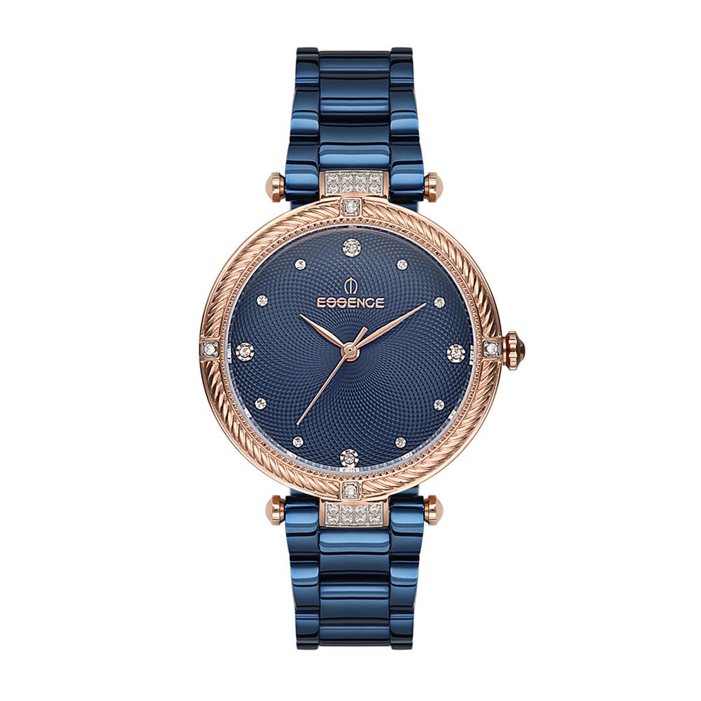 Фото «Женские  кварцевые часы ES6498FE.490 на стальном браслете с минеральным стеклом»