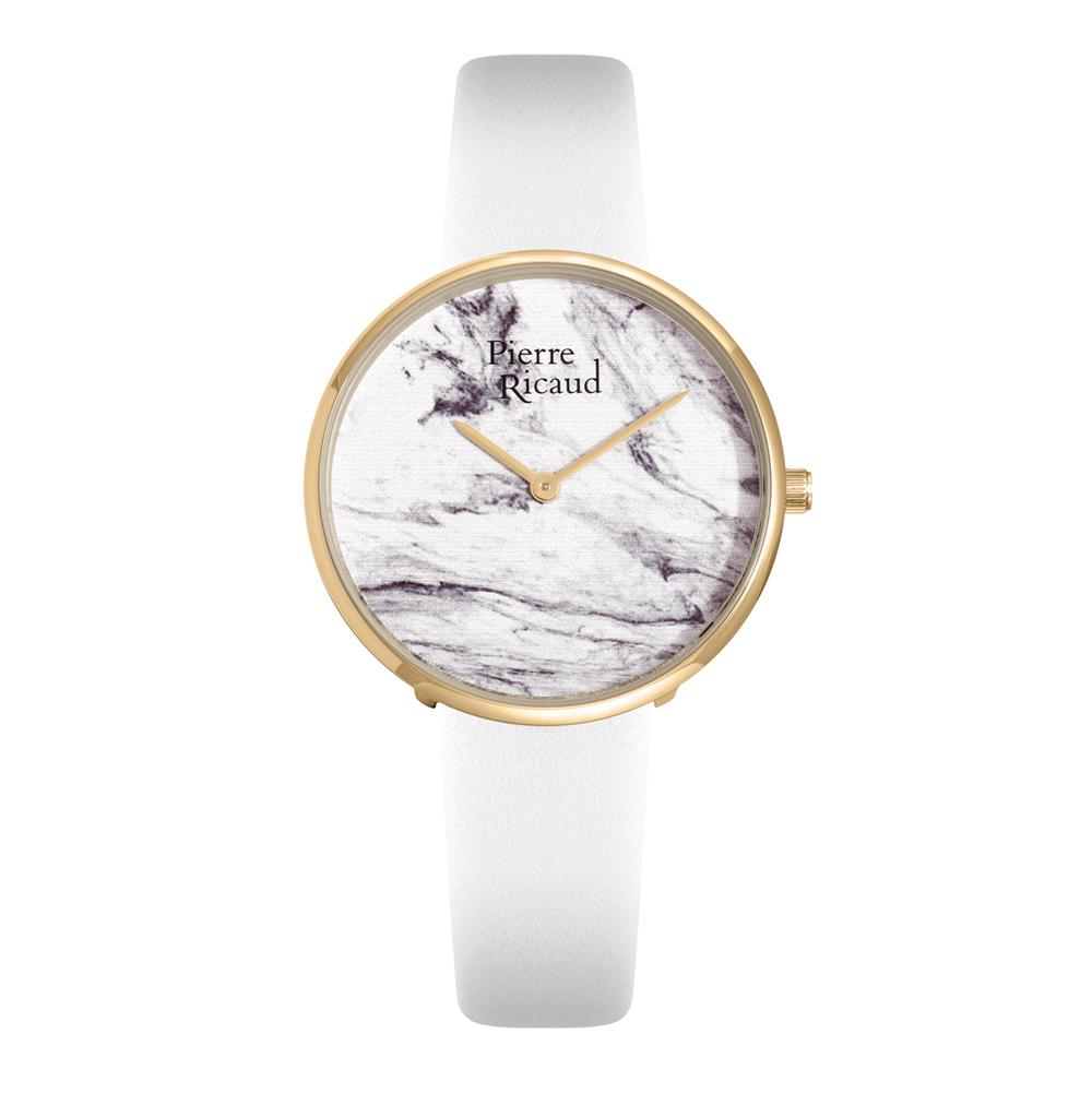 Женские часы P21067.1703Q на кожаном ремешке с минеральным стеклом